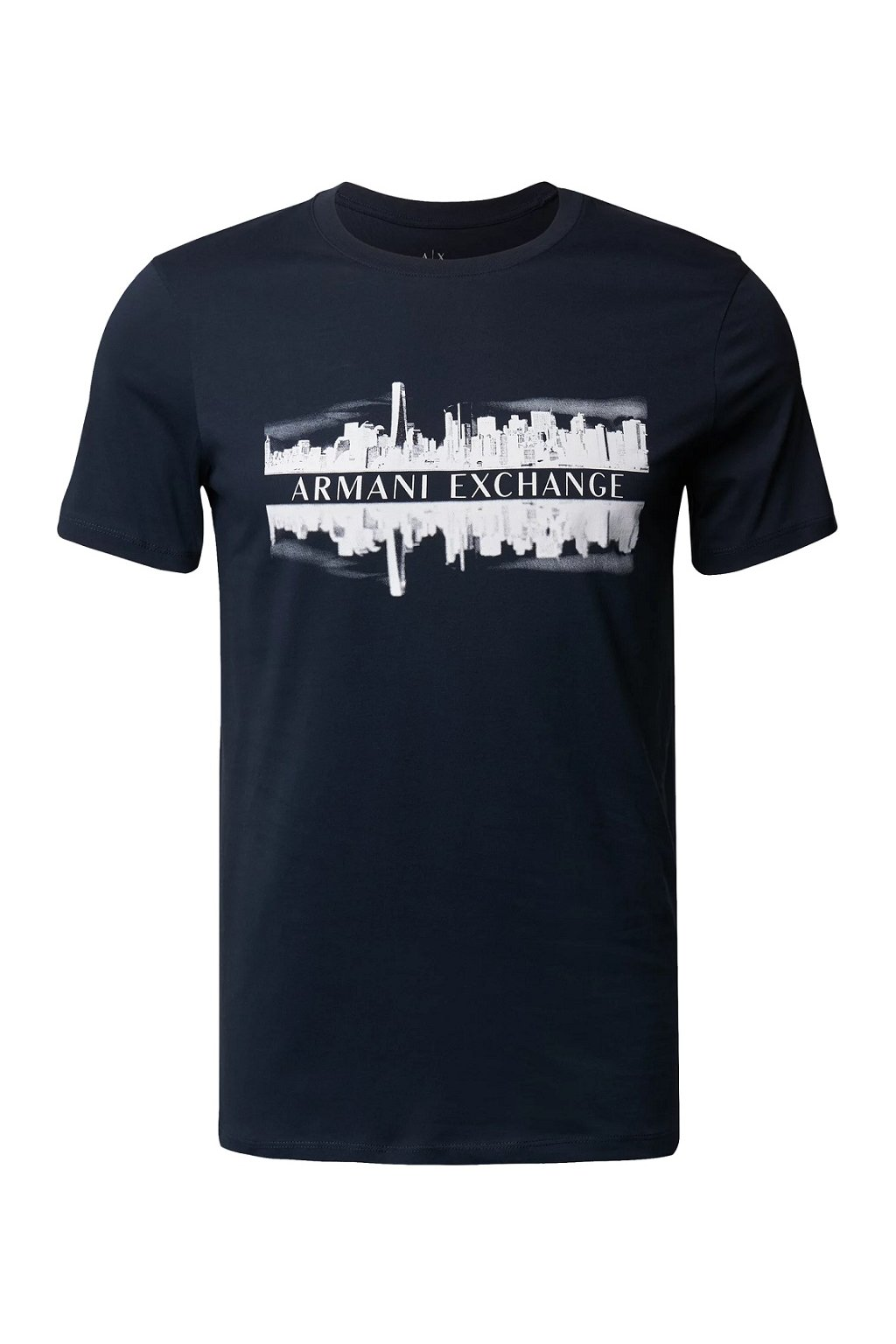 Pánské tričko Armani Exchange 6KZTAE ZJ5LZ modré