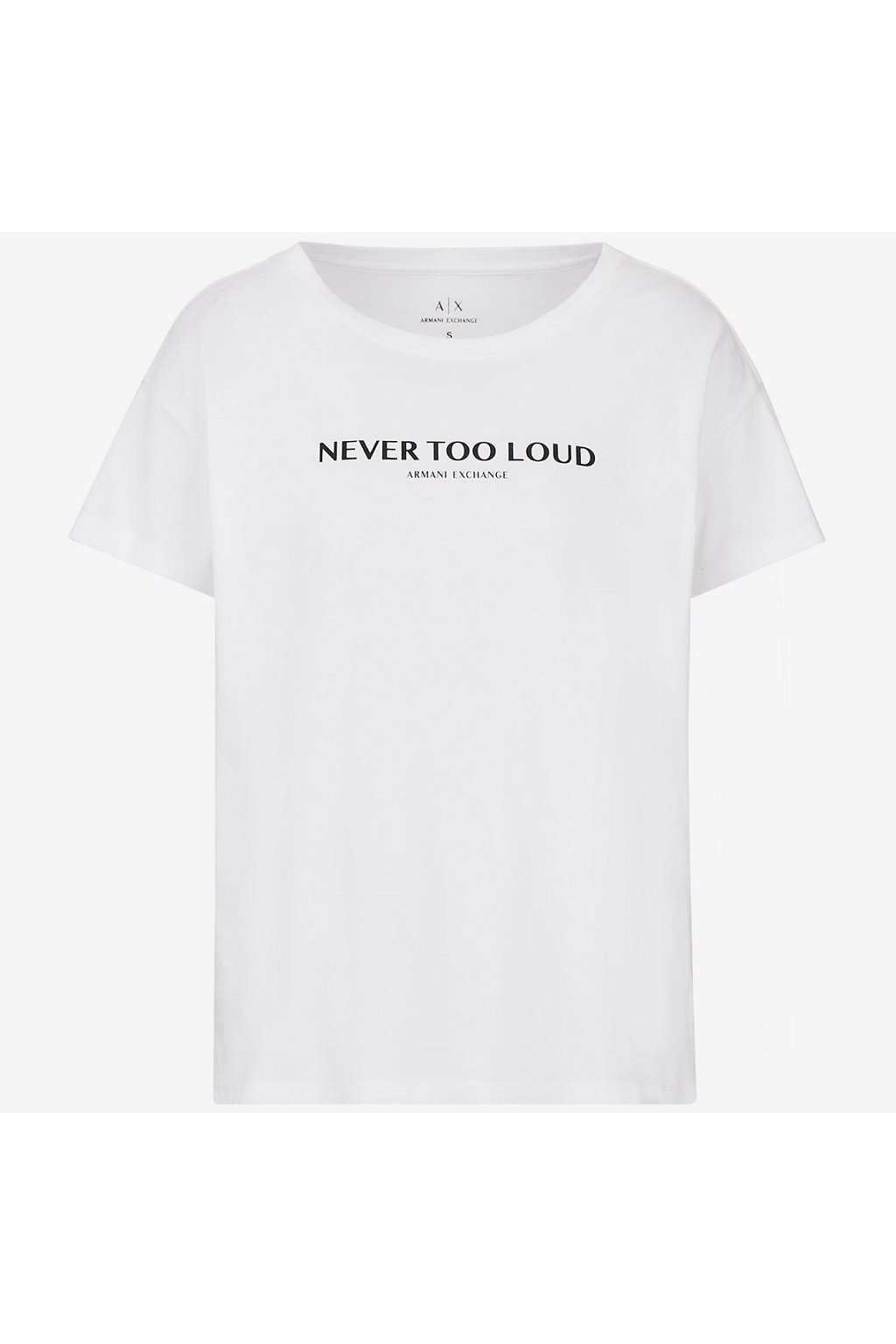 Dámské tričko Armani Exchange 6KYTAH YJ6QZ bílé