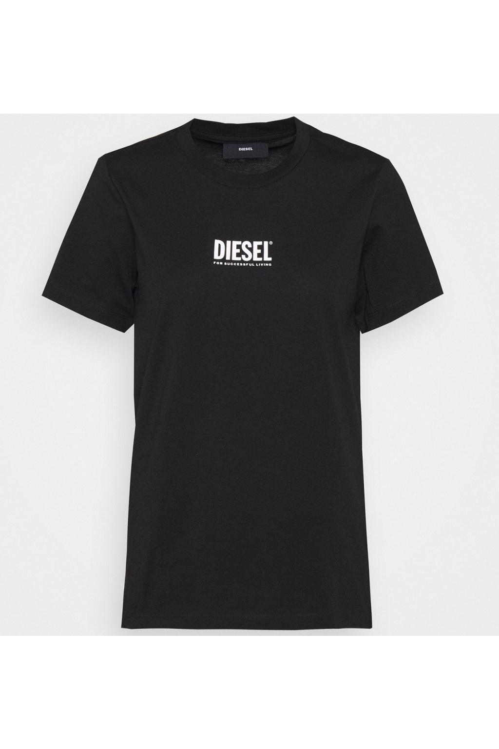 Dámské tričko Diesel T sily Ecosmallogo černé