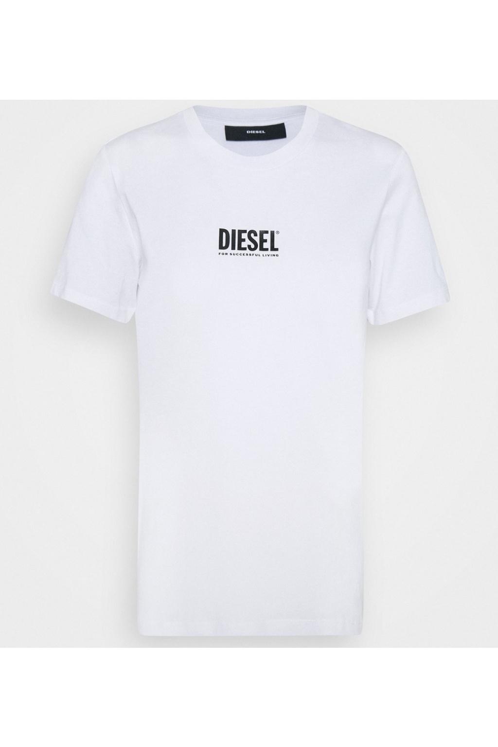 Dámské tričko Diesel T sily Ecosmallogo bílé