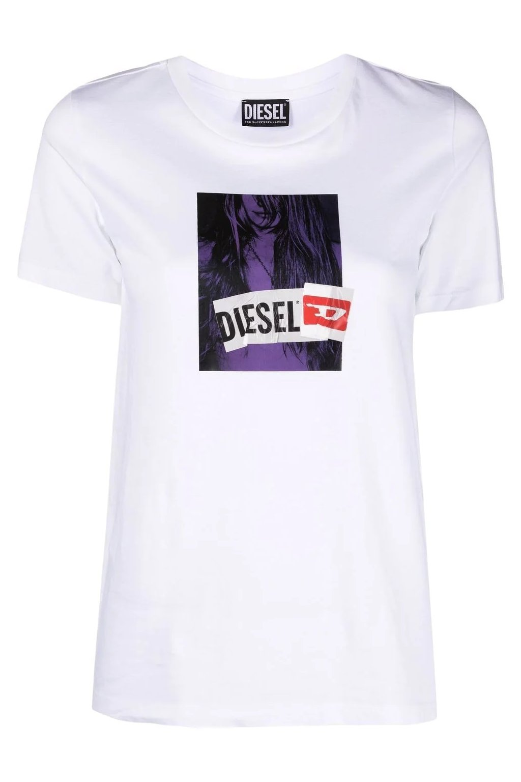 Dámské tričko Diesel T sily B3 bílé