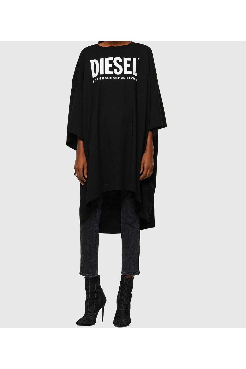 Dámské šaty Diesel D Extra ekologo černé