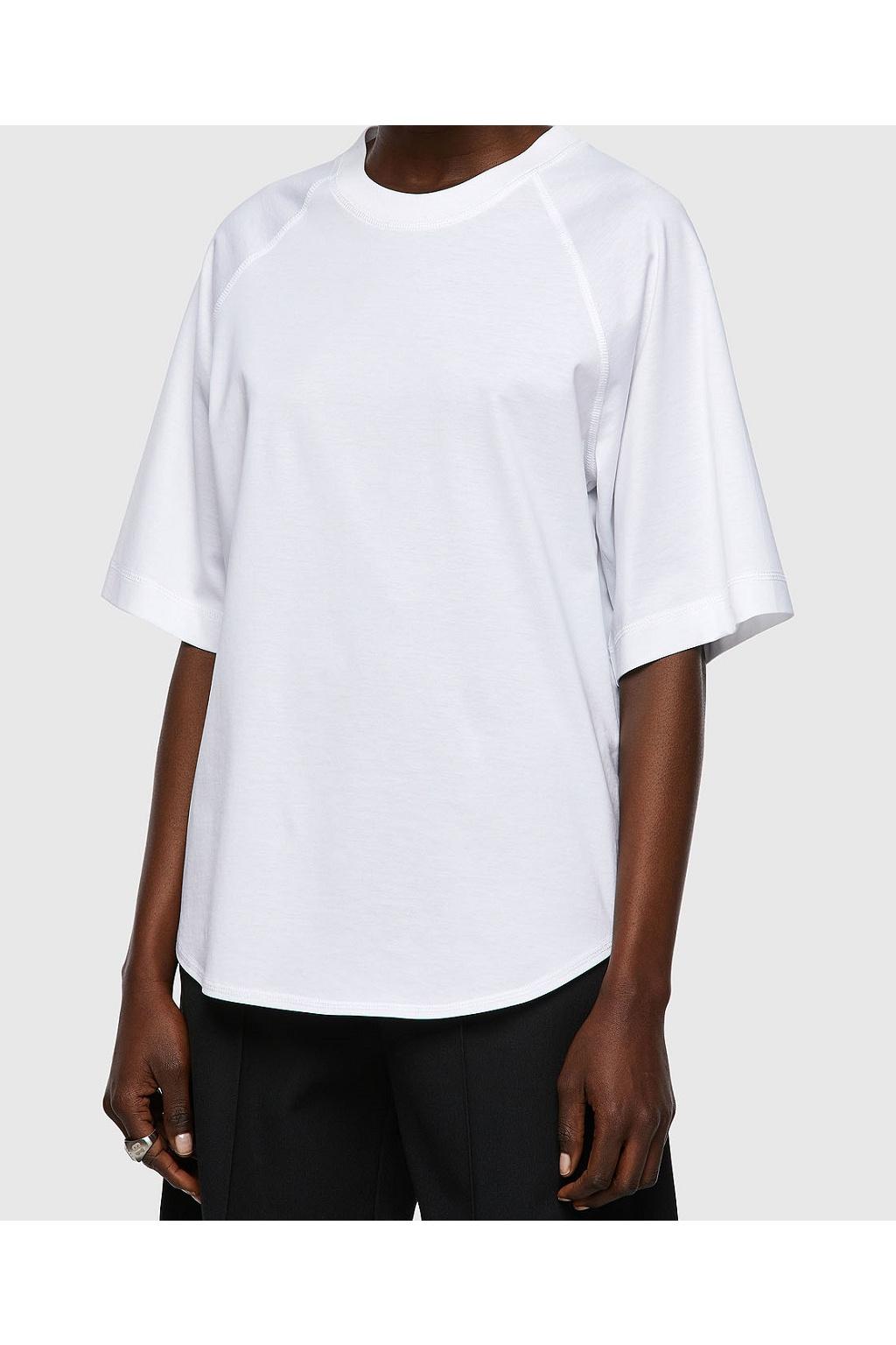 Dámské tričko Diesel T Spok C bílé