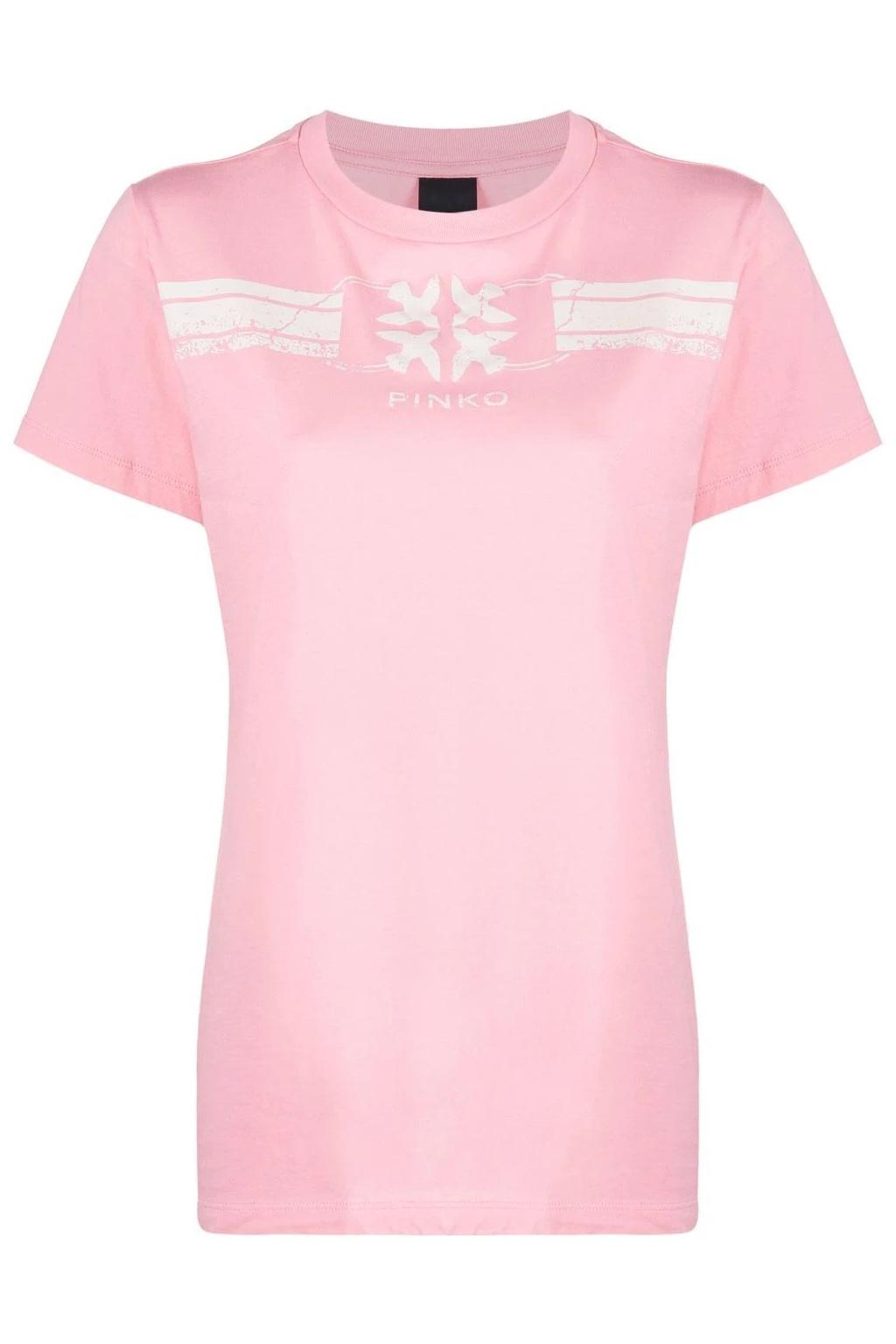 Dámské tričko Pinko Acquasparta růžové