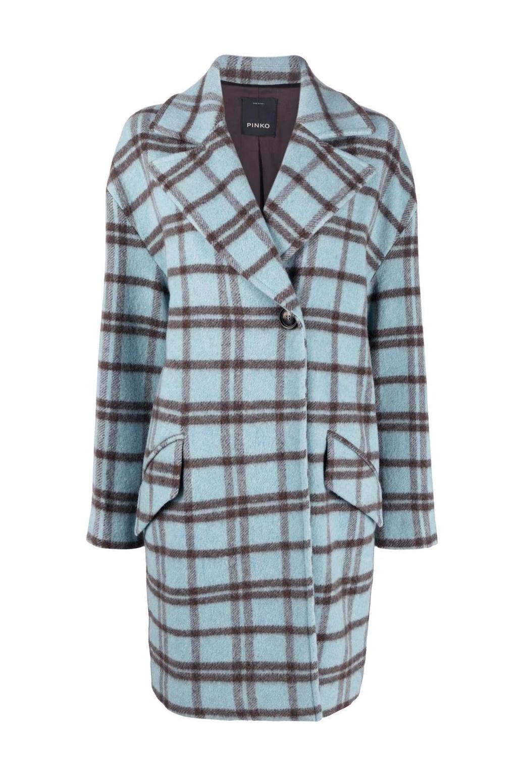 Dámský kabát Pinko Acarigua 2 modrý