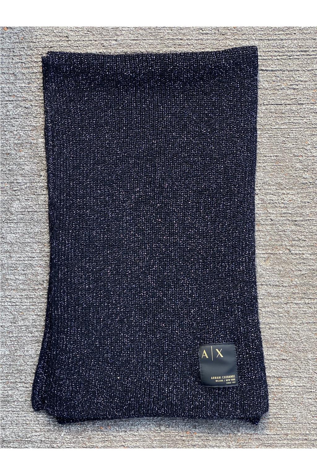 Dámský šál Armani Exchange 944667 1A305 černý