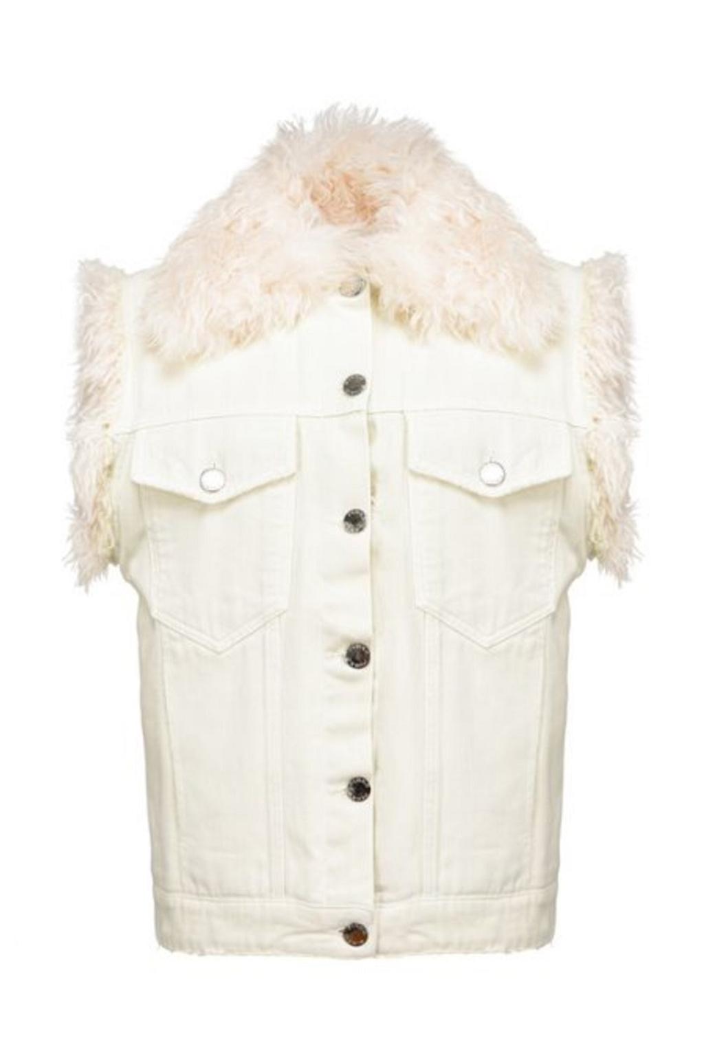 Dámská vesta Pinko Houston bílá