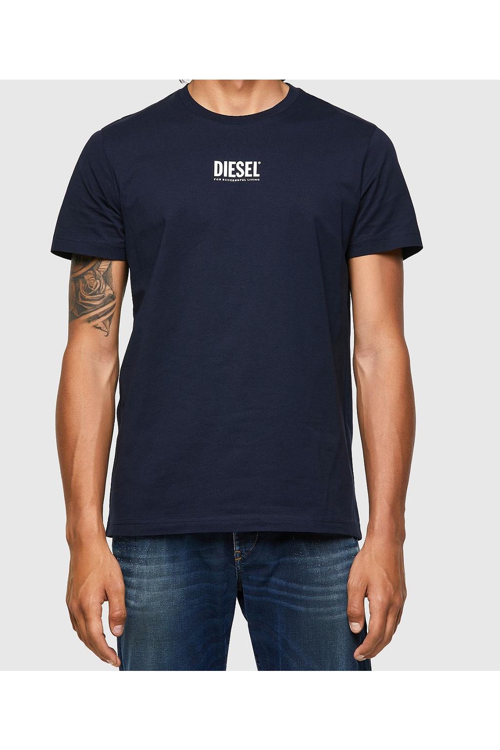 Pánské tričko Diesel T Diegos Ecosmallogo modré