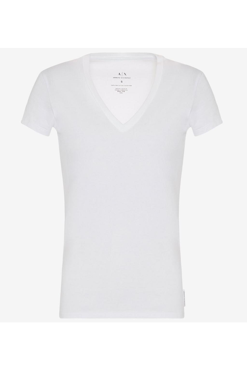 Dámské tričko Armani Exchange 8NYTDHYJ16Z bílé