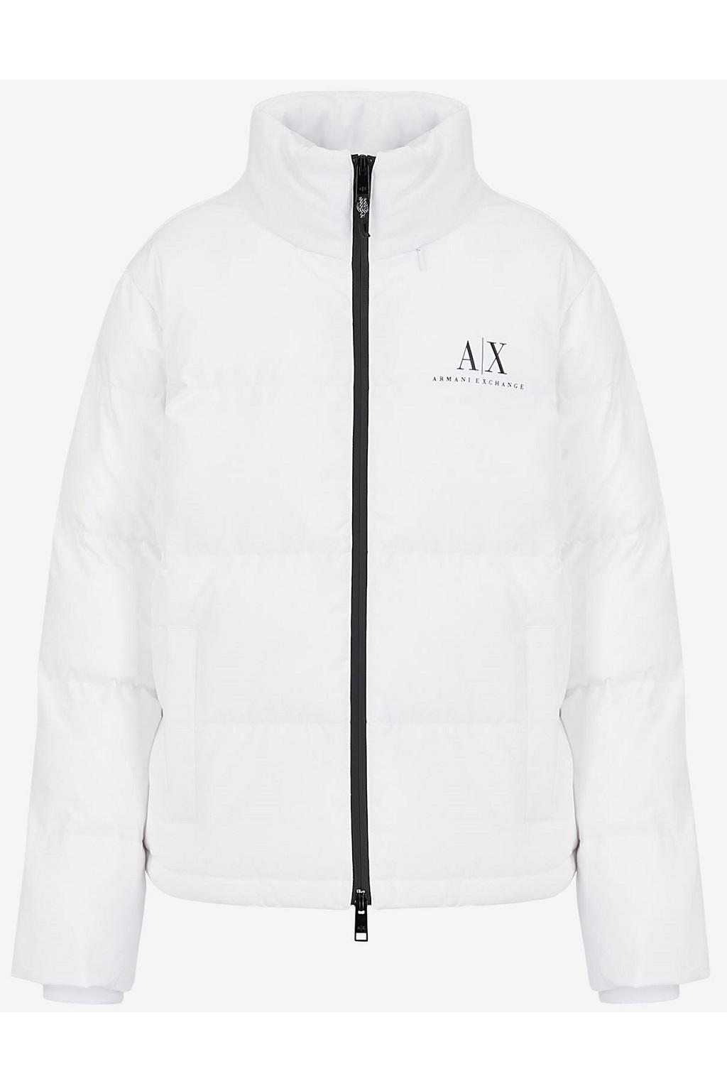 Dámská bunda Armani Exchange 6KYB11 YNTUZ bílé