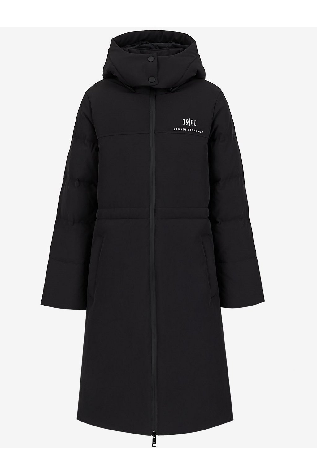 Dámský kabát Armani Exchange 6KYK11 YNTUZ černý