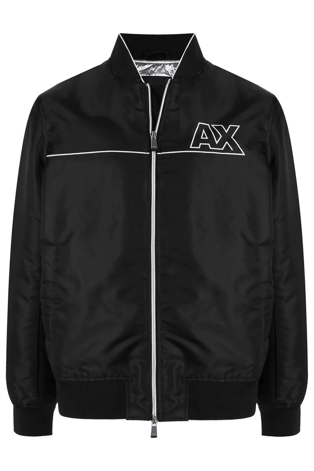 Pánská bunda Armani Exchange 6KZB28 ZNJWZ černá