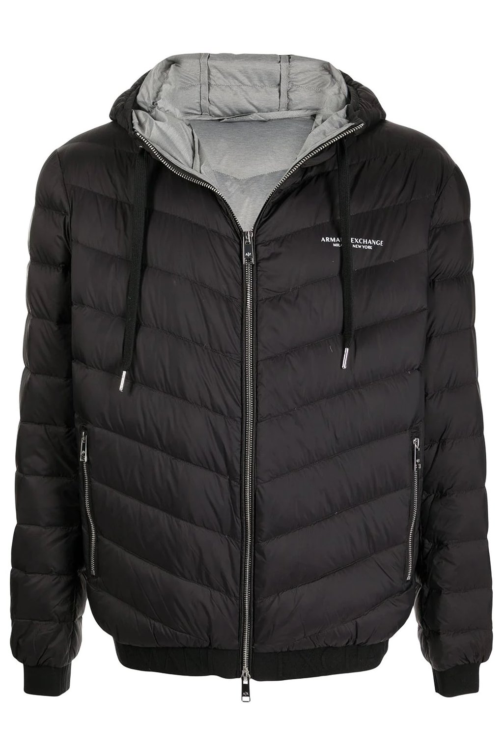 Pánská bunda Armani Exchange 8NZB53 ZNW3Z černá