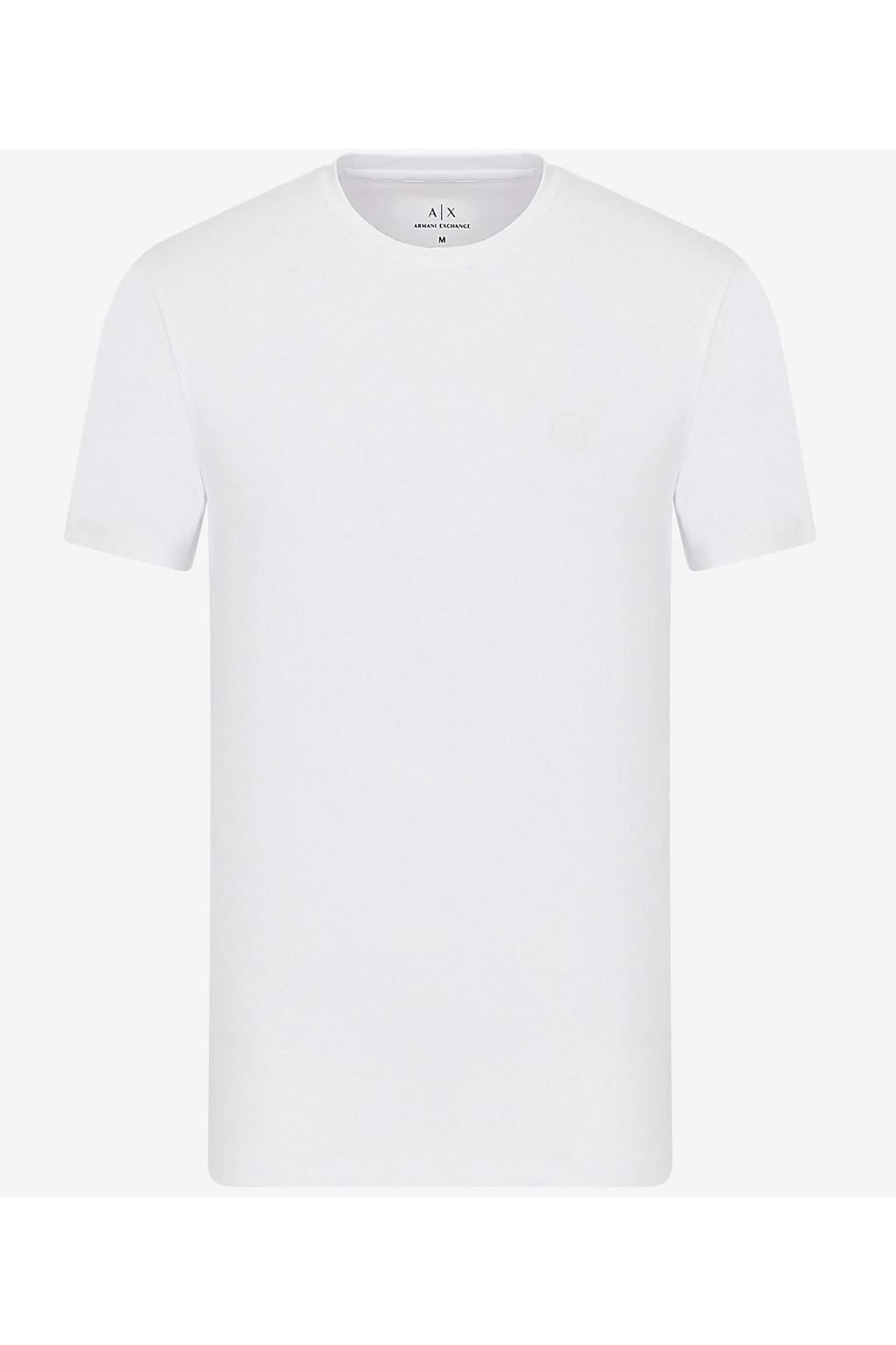 Pánské tričko Armani Exchange 8NZT84 Z8M9Z bílé