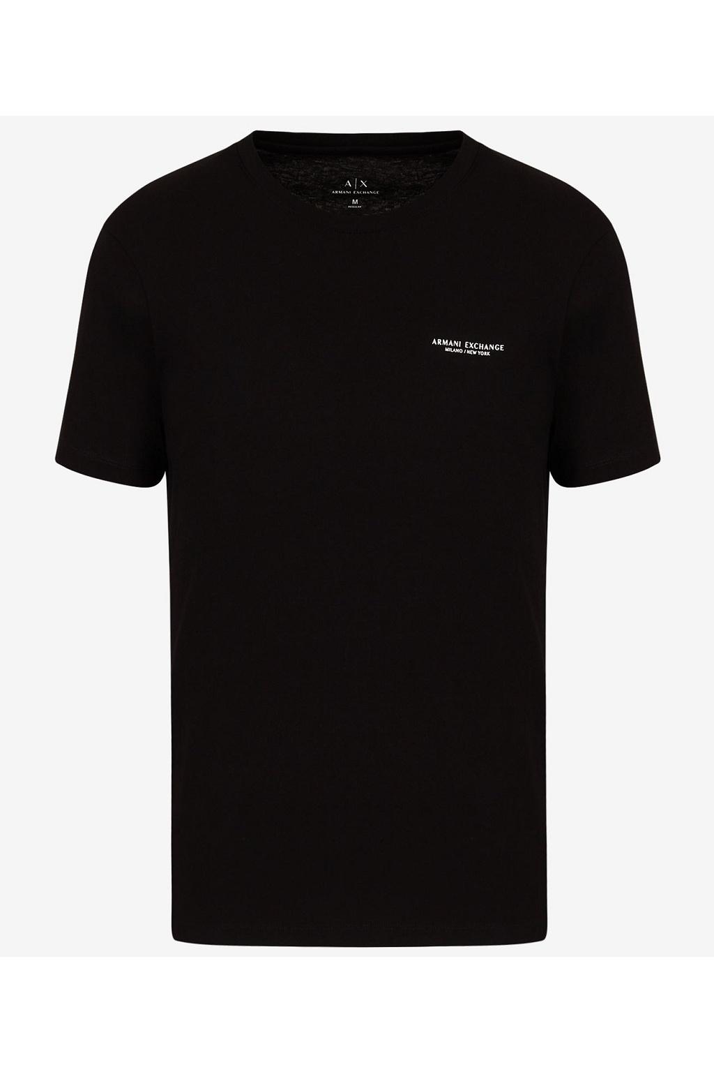 Pánské tričko Armani Exchange 8NZT91 Z8H4Z černé