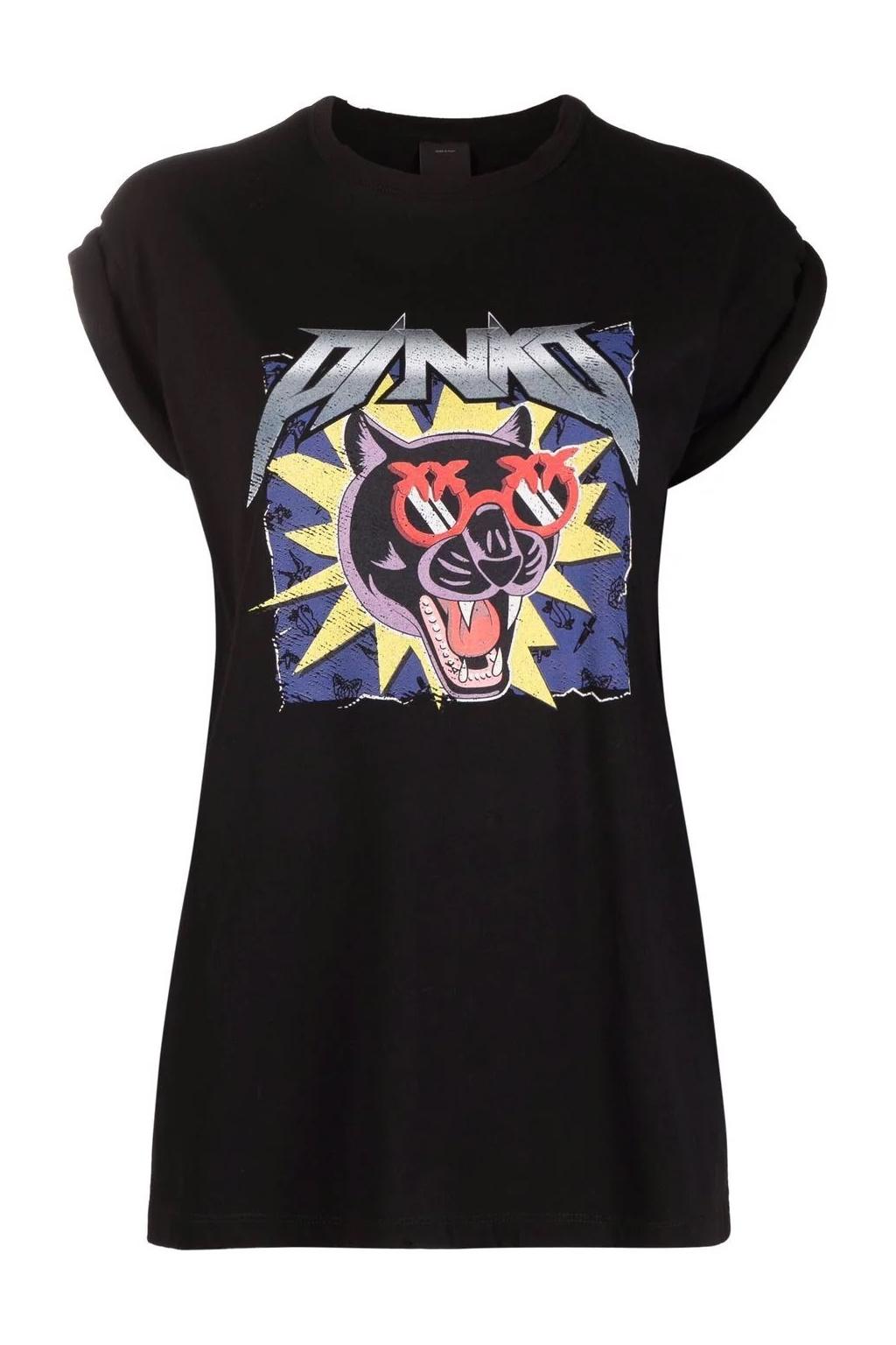 Dámské tričko Pinko Trool černé