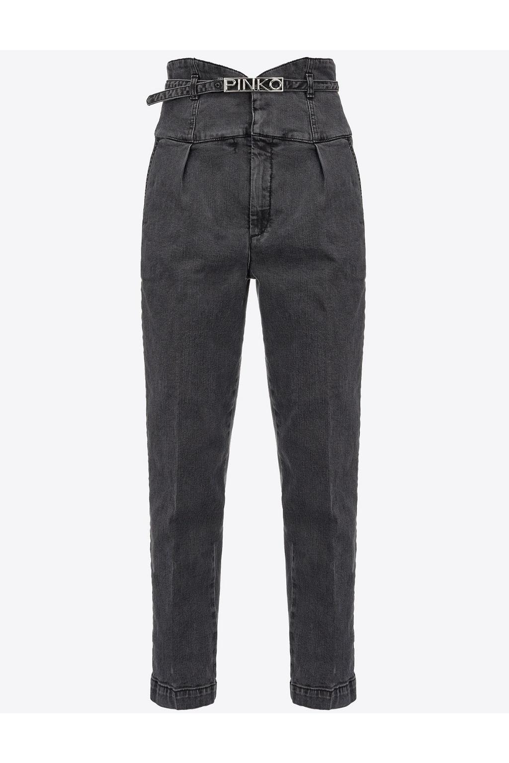 Dámské džíny Pinko Ariel 16 černé