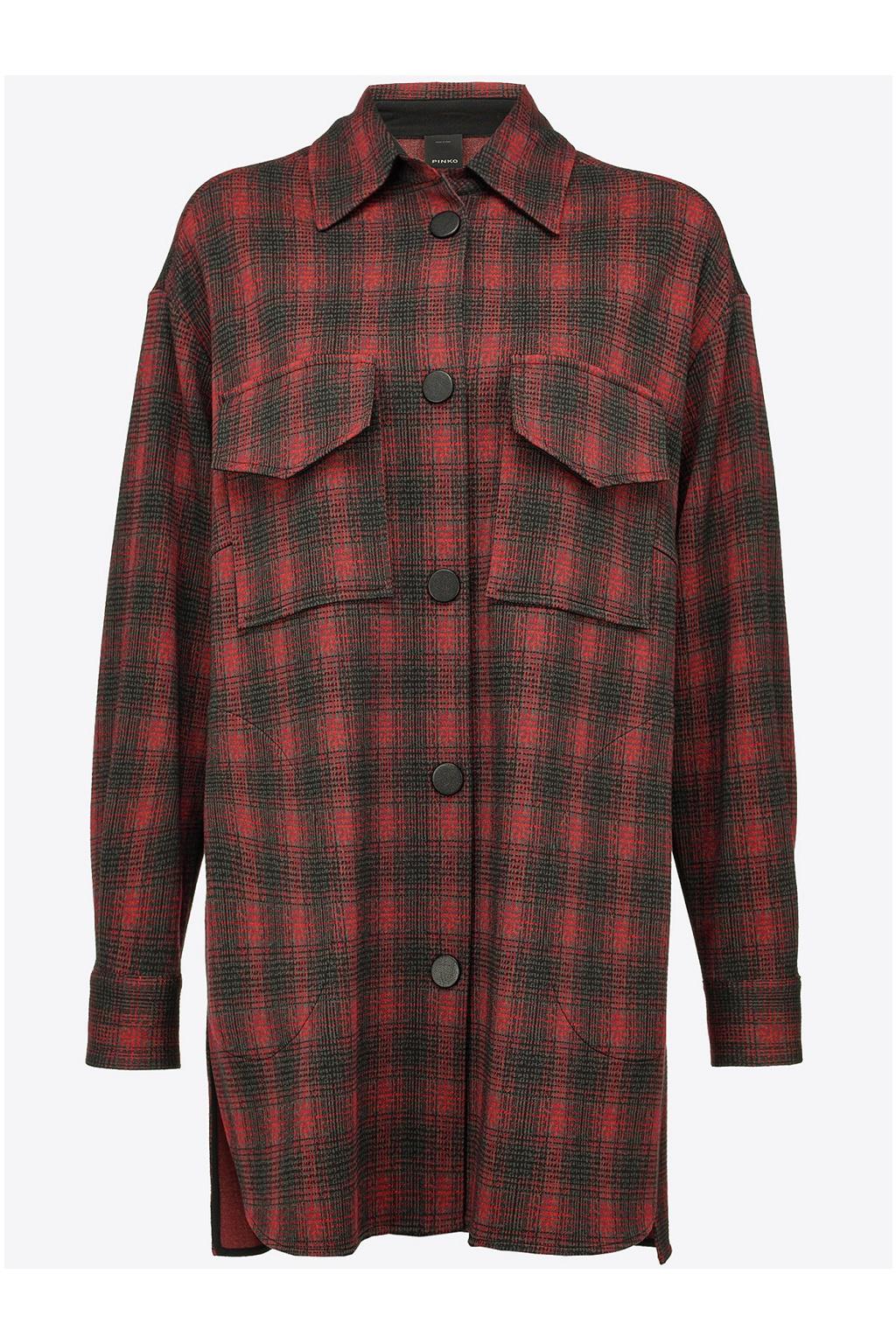 Dámská košile Pinko Max 2shirt červená