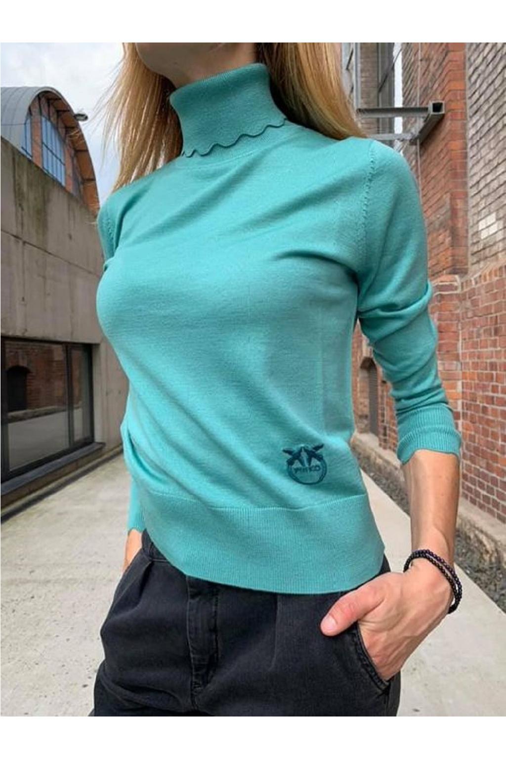 Dámský svetr Pinko Biancolella zelený