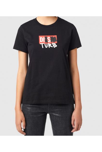Dámské tričko Diesel T Sily B6 černé