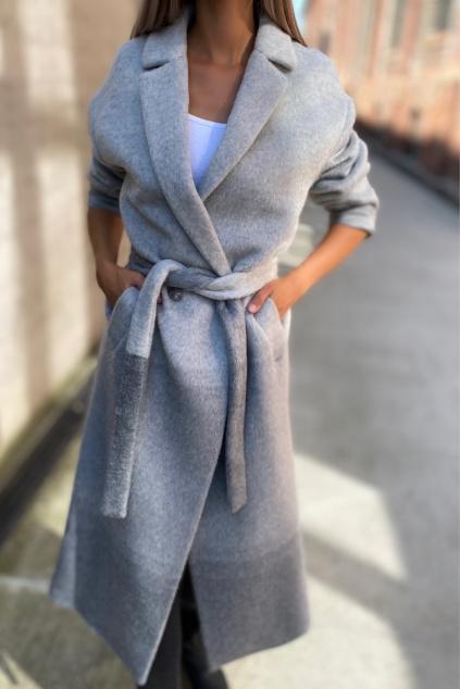 Dámský kabát Twinset 212TT2310 šedý2