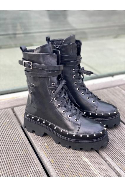 Dámské boty Pinko Chaval černé