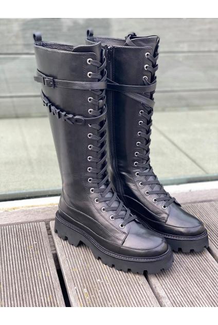 Dámské boty Pinko Rio Largo černé