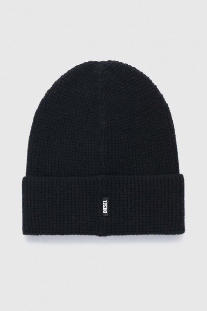 Dámská černa čepice Diesel K ABILENE Cap1