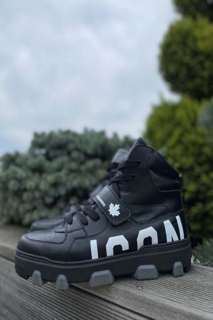 Pánské tenisky DSQUARED2Icon Basket Sneakers