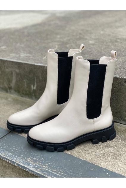 Dámské boty Michael Kors Ridley 40F1RIFE6L krémové11