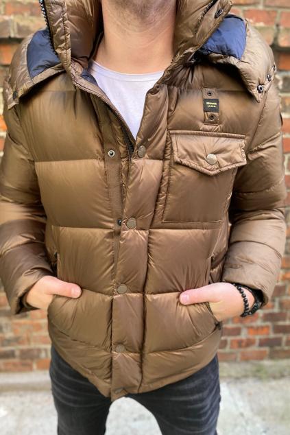 Pánská bunda Blauer 21WBLUC03065 hnědá