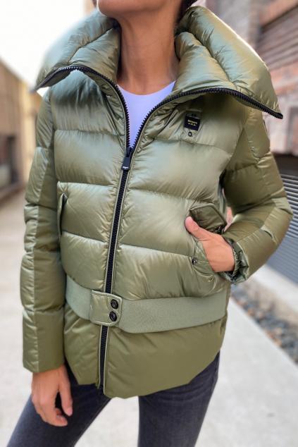 Dámská zimní bunda Blauer 21WBLDC03077 zelená