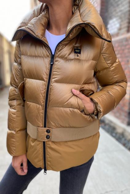Dámská zimní bunda Blauer 21WBLDC03077 zlatá