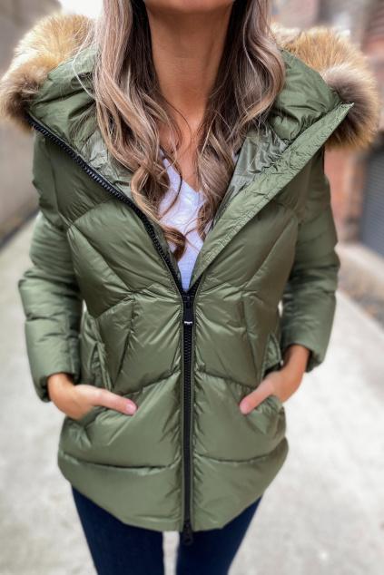 Dámská zimní bunda Blauer 21WBLDC03112 zelená
