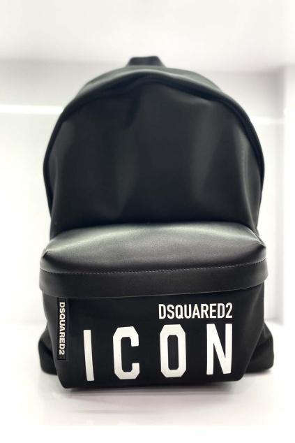 Dámský Batoh Dsquared2 Icon černý
