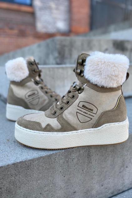 Dámská obuv Blauer F1MADELINE09 SHM 2 béžové