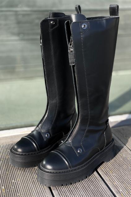 Dámské boty Armani Exchange XDO008 XV402 černé