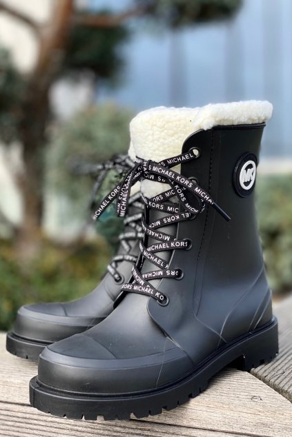 Dámské kotníkové boty Michael Kors 40F1MNFB8Q černé