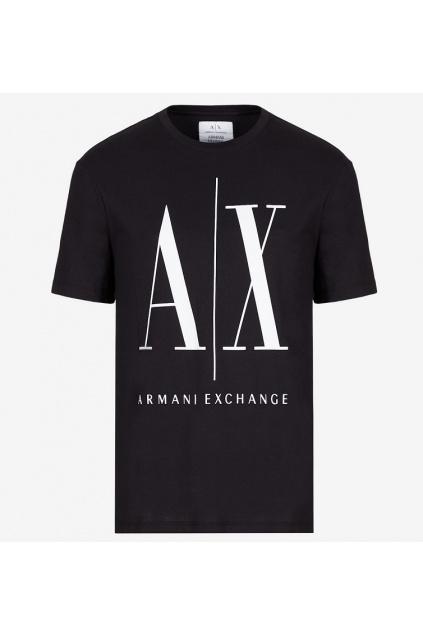 8NZTPA ZJH4Z Panské tričko Armani Exchange černé