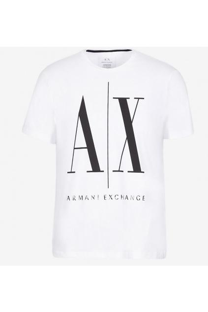 8NZTPA ZJH4Z Panské tričko Armani Exchange bílé