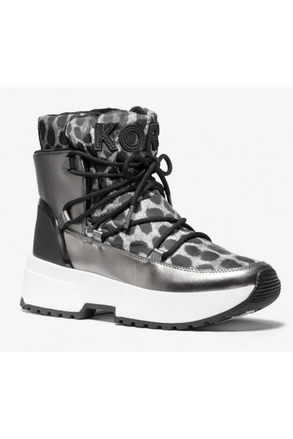 40F9CSFE4D Michael Kors obuv Cassia Nylon gepard šedé