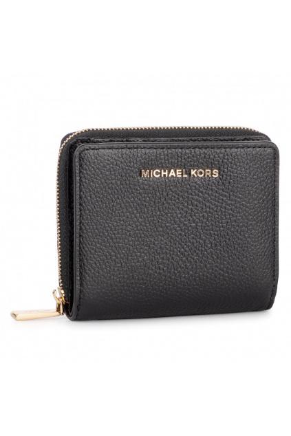 34F9GJ6Z8L Dámská peněženka Michael Kors Jet Set Md Snap Leather černá