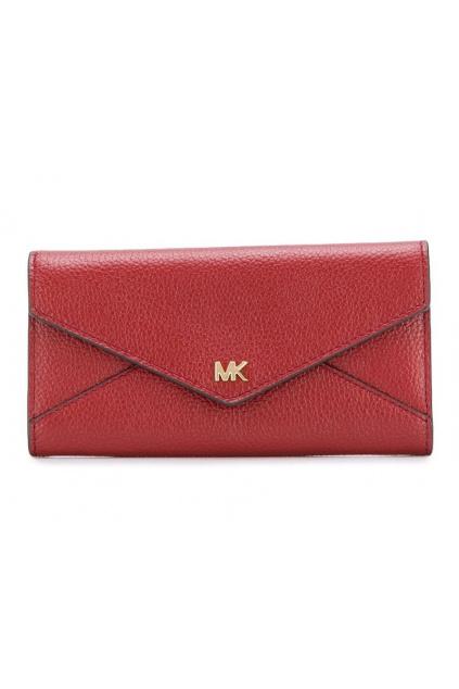 34F9GF6E7L Dámská peněženka Michael Kors Moot Lg Slim Env Trifold červená
