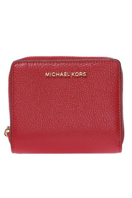 34F9GJ6Z8L Dámská peněženka Michael Kors Jet Set Md Snap Leather červená