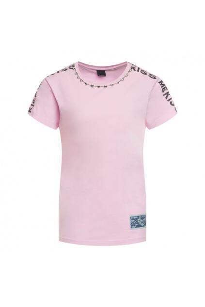1G14GY Y5BD Dámské tričko Pinko Manju růžové