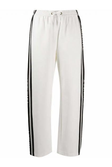 201TP2072 Dámské kalhoty Twinset Logo bílé