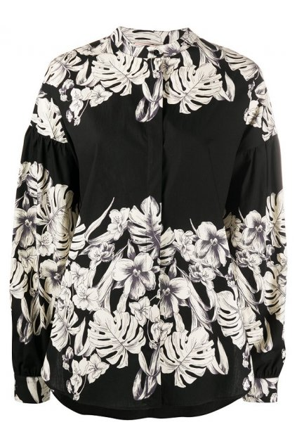 201TT2311 Dámská košile Twinset černo bílá