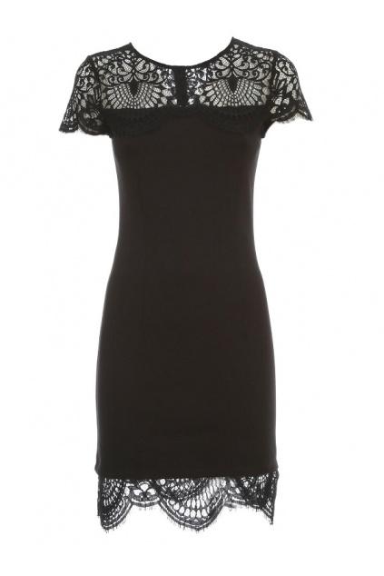 201TP212A Dámské šaty Twinset černé