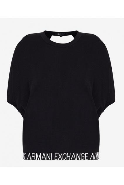 3HYM1N YMM8Z Dámský svetr Armani Exchange černý
