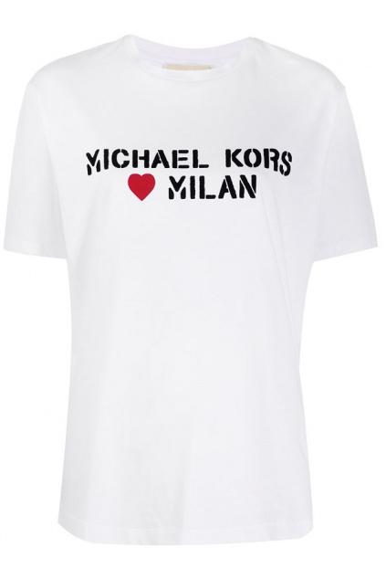 MS05MK297J Dámské tričko Michael Kors bílé